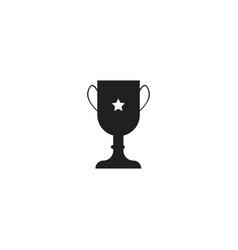 Trophy icon design template vector