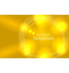 Yellow Abstract Mesh Background with Circles vector
