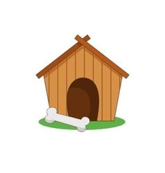 dog house kennel vector image