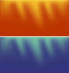 Two Abstract Backgrounds vector image vector image