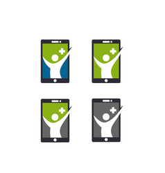 app health icon vector image vector image