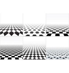 Tiled floor vector