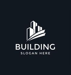 Building logo creative logo real estate logo vector