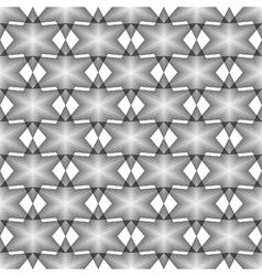 Design seamless monochrome latticed pattern vector