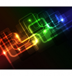 neon lights design vector image