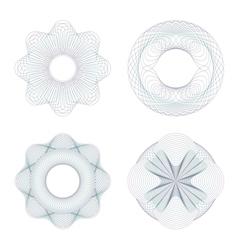 Rosettes vector