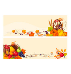 Thanksgiving background with space for text vector