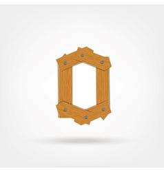 Wooden Boards Zero vector