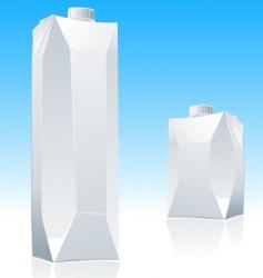 juice blank package vector image