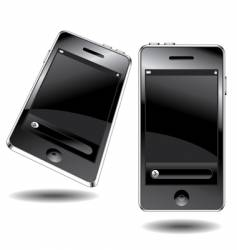 touch phone vector image vector image