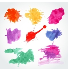 Abstract watercolor background Ink vector