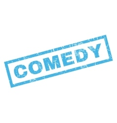 Comedy Rubber Stamp vector image