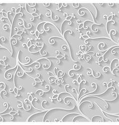 Floral flat pattern vector