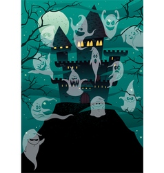Haunted Castles vector image