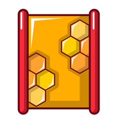 honeycombs icon cartoon style vector image