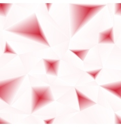 red triangular holes abstract seamless vector image
