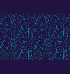 seamless pattern background with vector image