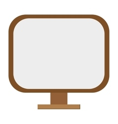 standing mirror icon vector image