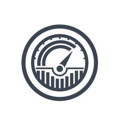 traffic glyph icon vector image
