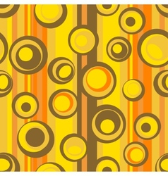 seamless abstract circle pattern vector image vector image