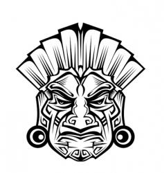 Ancient mask vector