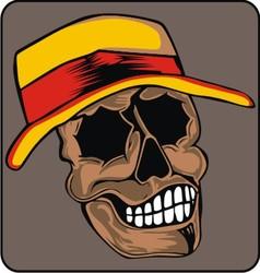 wear skull caps vector image vector image