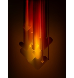 Abstract arrows background eps 8 vector