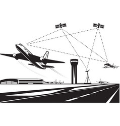 Air traffic management vector