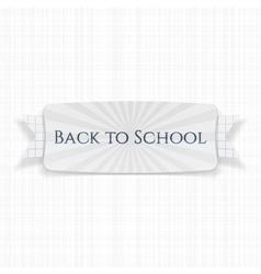 Back to School special Label vector