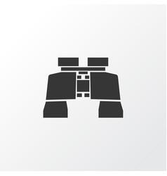 Binoculars icon symbol premium quality isolated vector