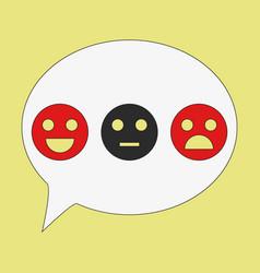 Emoticon set icons emoji symbols isolated on vector
