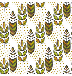 ethnic seamless pattern with ornamental colorful vector image