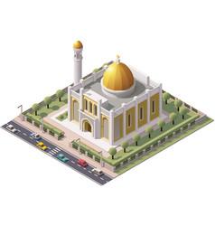 Isometric mosque vector