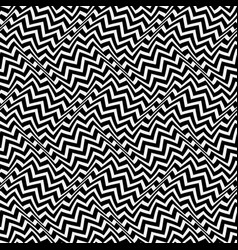 Optical art seamless pattern moving waves vector