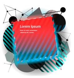modern minimalism style banner vector image