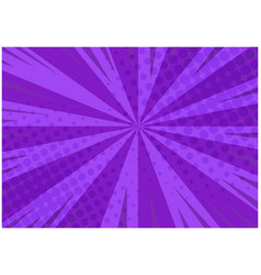 abstract purple striped retro comic background vector image
