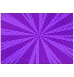 Abstract purple striped retro comic background vector