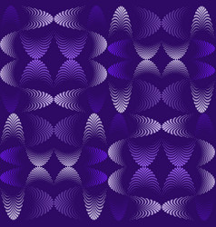 Abstract seamless pattern halftone effect vector