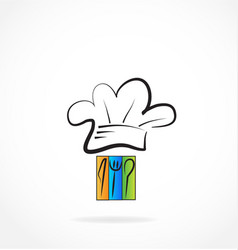 chef restaurant cook logo vector image