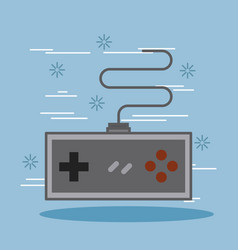 Game pad for older game consoles device vector