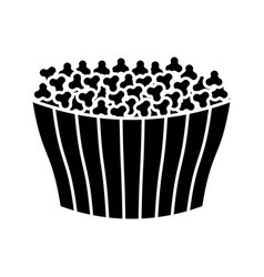 Ice cream bucket icon vector