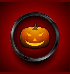 Jack-o-lantern pumpkin halloween monster vector