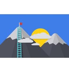 modern flat background vector image
