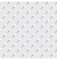 modern polka dots seamless pattern vector image