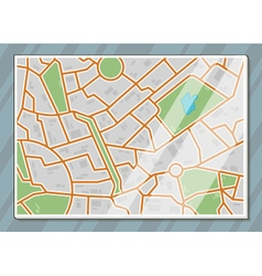 texture city map vector image
