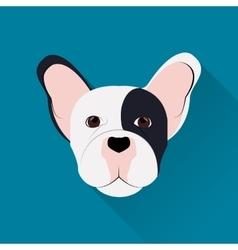 French bulldog design vector image vector image