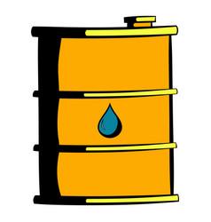 oil barrel icon icon cartoon vector image