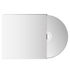 3D Dvd optical drive Mock up vector image