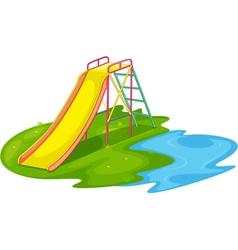 Empty playground vector