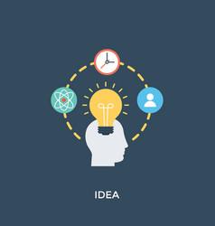 Idea planning vector